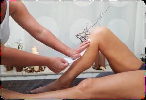 Voksbehandling af ben hos FyzFit Spa & Wellness
