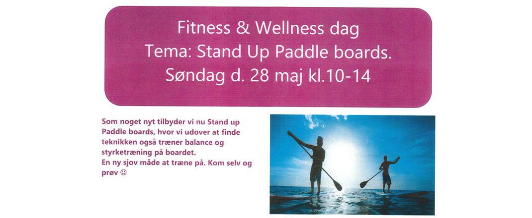 Paddleboard hos Fyzfit Spa & Wellness